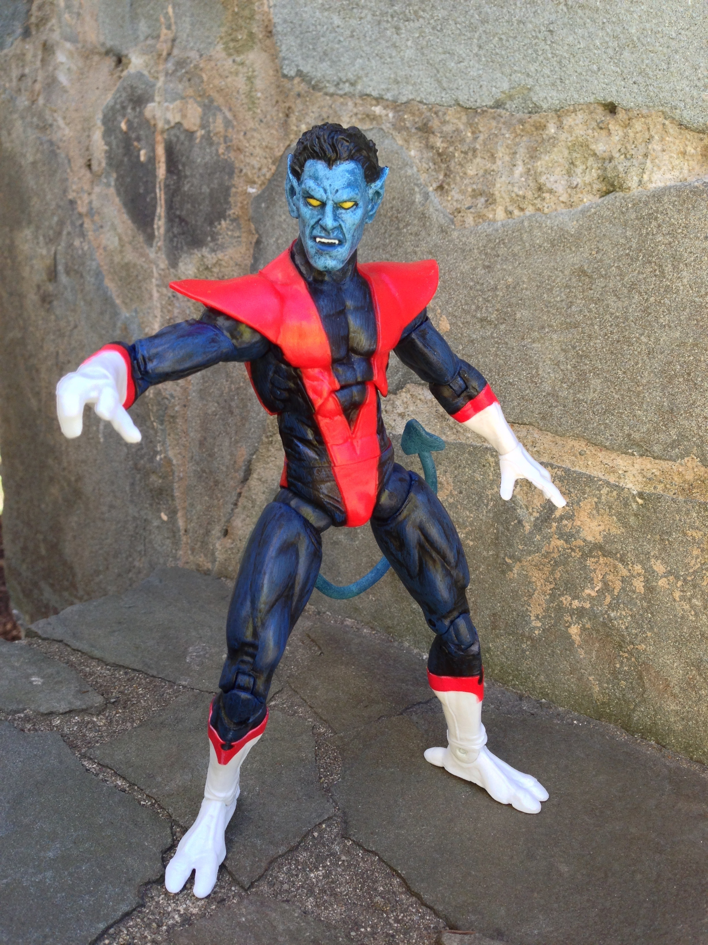 Marvel Select Nightcrawler Action Figure Review - Marvel ...