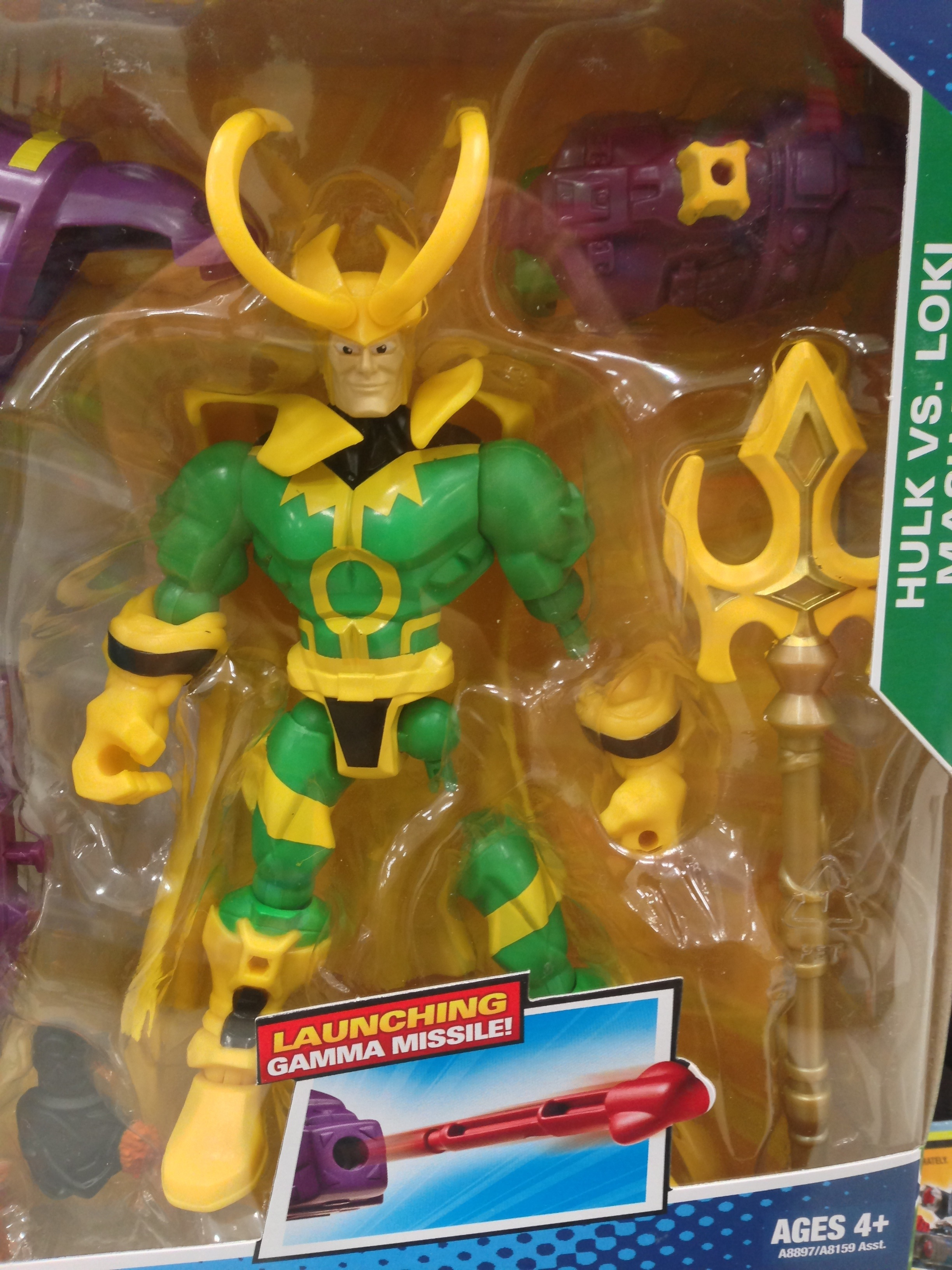 Marvel Mashers Loki amp Doc Ock Figures Released amp Photos Marvel Toy