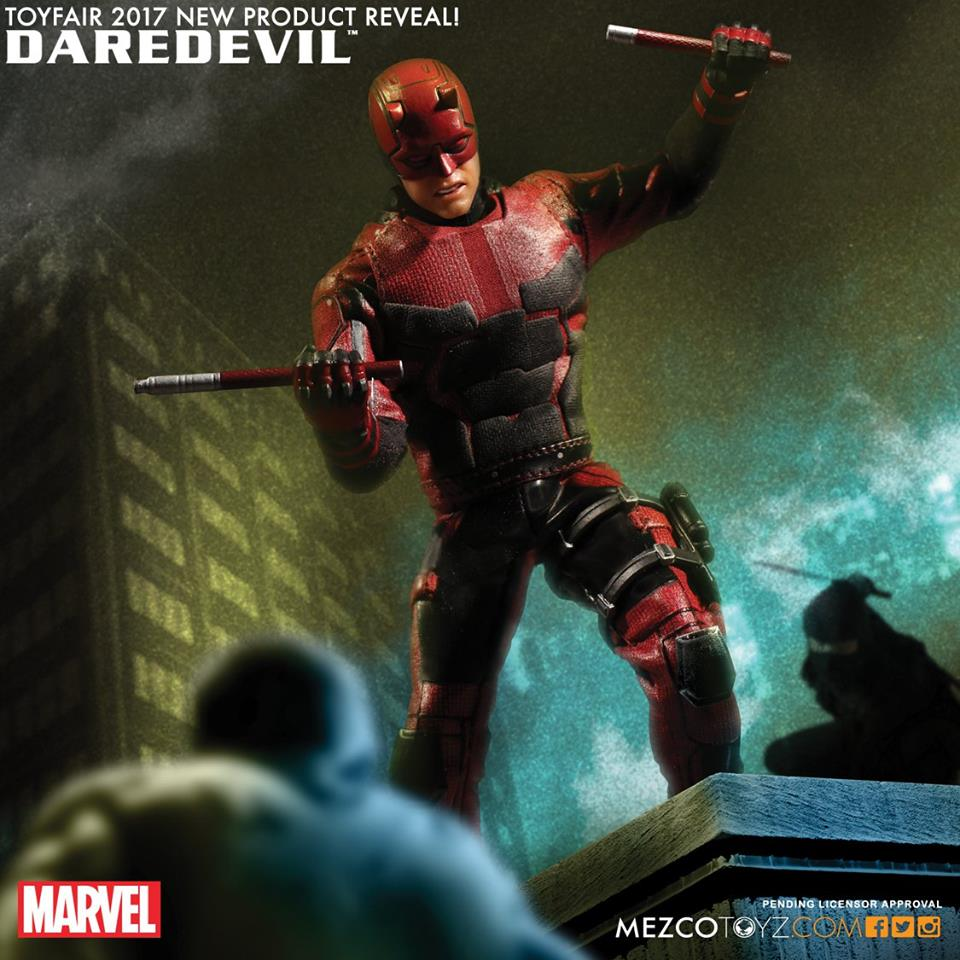The First Netflix Daredevil Trailer Is Out: Mezco ONE:12 Collective Wolverine Iron Man & Doctor